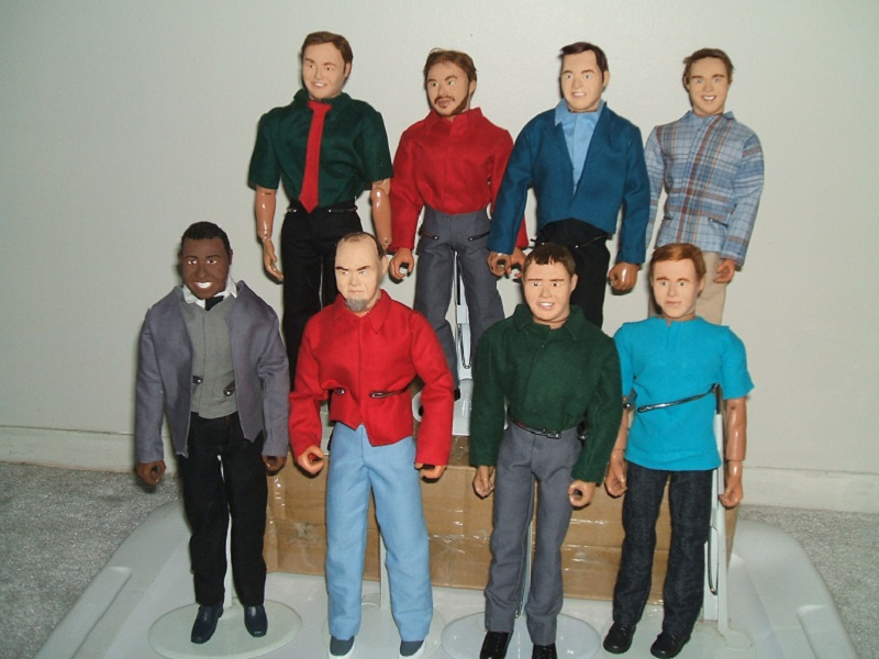 Larger Corporate Action Figures