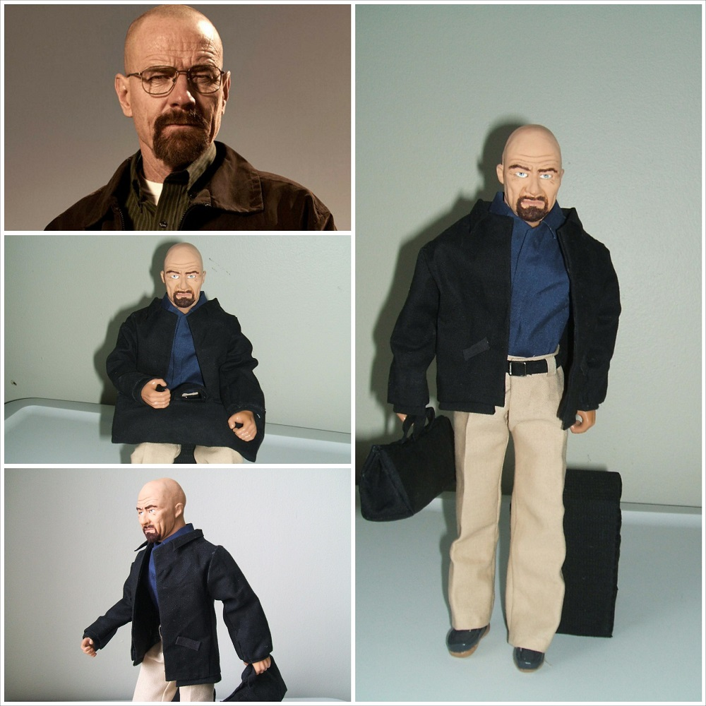 Large Walter White Action Figure
