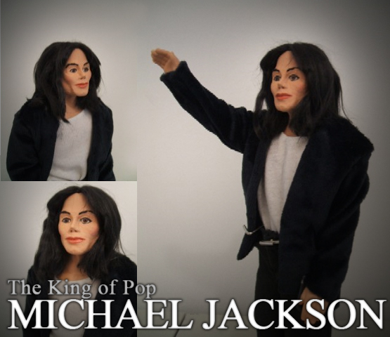 Large Michael Jackson Action Figure