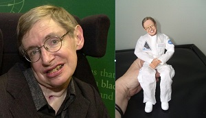 Stephen Hawking Action Figure